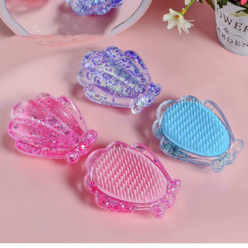 Kids Comb With Airbag Massage Hairdressing Anti-static Barbers Comb For Girls, Hair Accessories Barber Hair Brush Combs