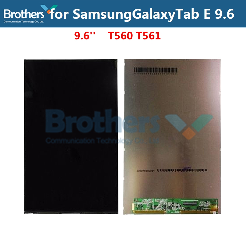 Original Tablet LCD For Samsung Galaxy Tab E 9.6 T560 T561 LCD Display Only Panel Screen SM-T560 Replacement Tested Working Top