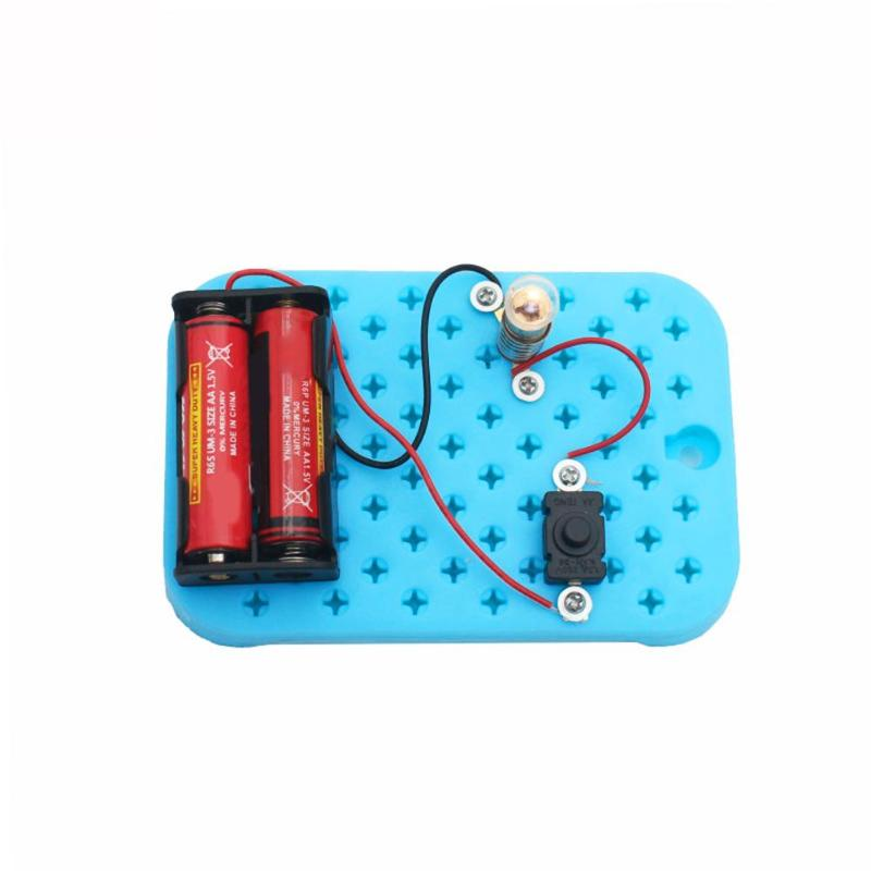 Physical Science experiments series parallel circuits DIY material for your Child kids and school students Science Education Toy