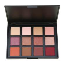 Makeup 12-color Eyeshadow Pearly Matte 12-color Eyeshadow Palette Smoky Makeup Earth Color Eyeshadow Palette