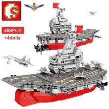 Sembo 458 шт конструктор для кораблей военный Круизный корабль