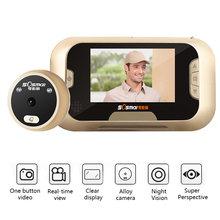 28 дюймовый цветной экран цифровой дверной глазок для домашней