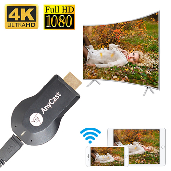 цена на TV Stick 1080P M4 Wireless Anycast TV Dongle Receiver Adapter HDMI WiFi Dongle For DLNA Airplay Miracast HDMI For IOS Android
