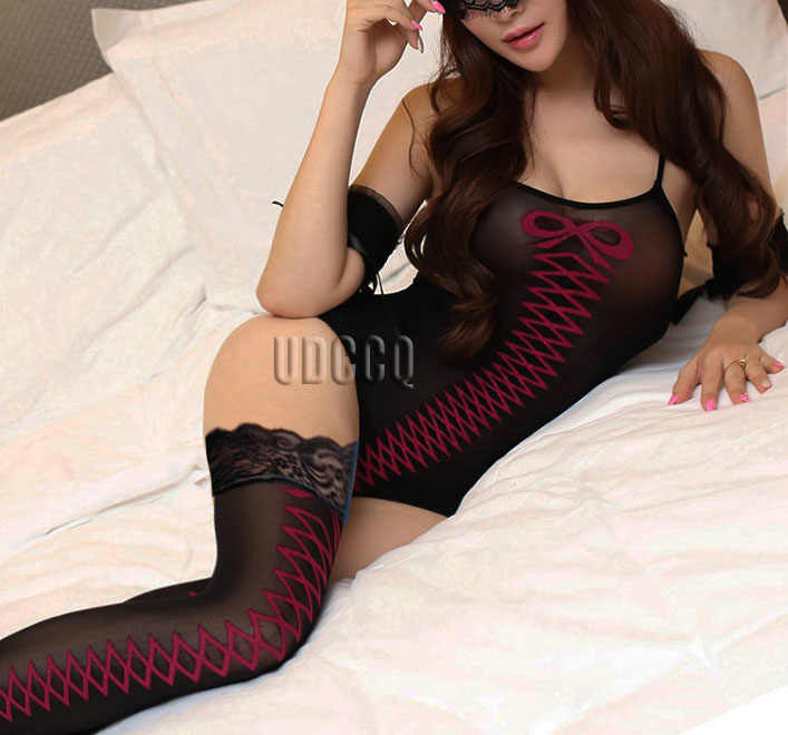 Hot sexy kostüme sexy unterwäsche sex produkt dessous nachtwäsche Teddies Catsuit Ouvert Chemises Nachthemd Negligés + strumpf