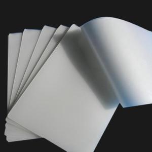 Image 5 - 100 ピース/ロット 50 マイク、 a4 熱ラミネートフィルムペット用/ファイル/カード/写真積層ロールフィルムプラスチックフィルム Plastifieuse