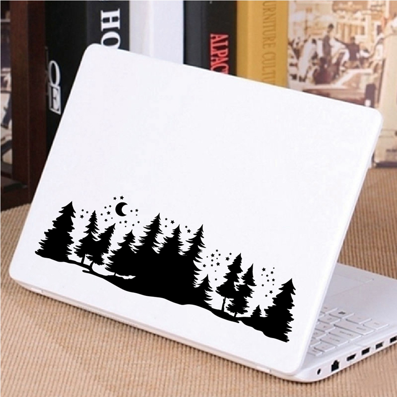 Starry Forest laptop decal decor