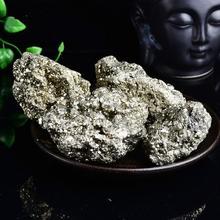 5 ~ 7cm natural chalcopyrite mineral stone pyrite specimen collection metal crystalline minerals