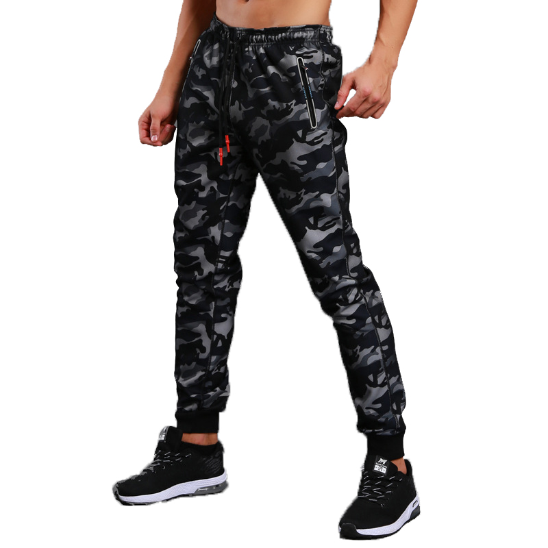 2019  High Quality Jogger Camouflage Pants Men Fitness Bodybuilding Gyms Pants Runners Clothing Trousers Camo Sweatpants Joggers