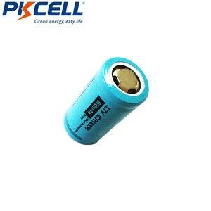 Image 2 - 2 szt. PKCELL ICR 18350 akumulator litowo jonowy 3.7V 900mAh akumulatory litowo jonowe Bateria Baterias