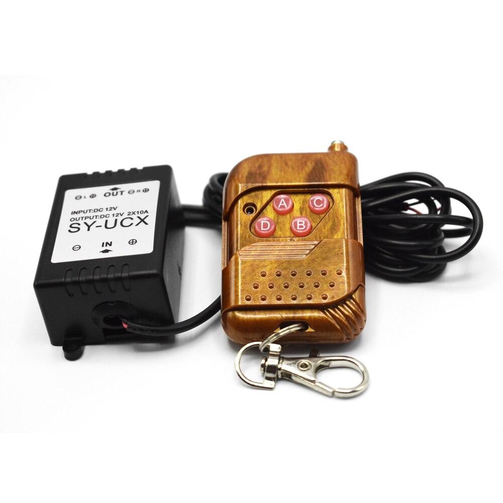16 Modes Car Eagle Eye LED Controller LED Strips Strobe Flash Light Wireless Remote Control Car Back-up Fog Light Controller