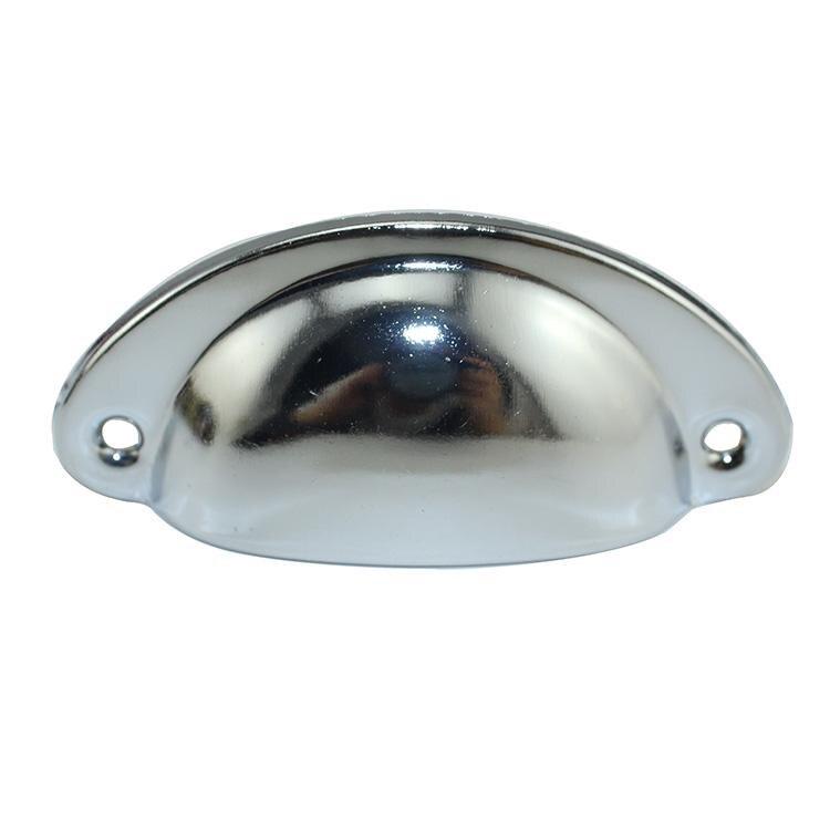 1 шт. ретро металл для ящика кухонного шкафа дверные ручки мебельные ручки, фурнитура антикварный шкаф Железный корпус ручки - Цвет: Silver