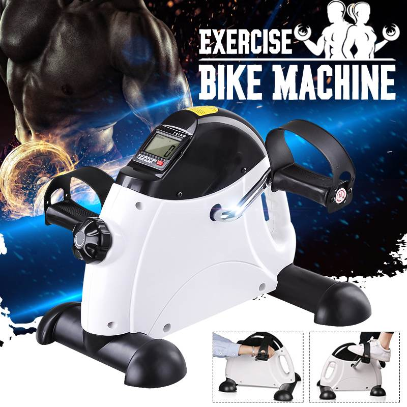Mini Pedal LCD Display Indoor Cycling Exercise Bike