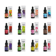Aceites esenciales para difusor de aroma, botella de 10ML, humidificador de aire, aceite soluble en agua para aromaterapia, 12 tipos de fragancias