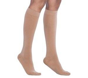 "Image 3 - הברך גבוהה גרבי דחיסה עבור נשים & גברים 30 40 מ""מ כספית הטוב ביותר רפואי, סיעוד, טיולים, נסיעות & טיסה גרביים ריצה וכושר"