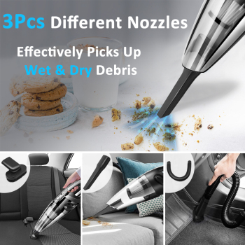 Wireless Vacuum Cleaner for Car Vacuum Cleaner Power Vacuum Wireless Vacuum Cleaner Car Handheld Vaccum Cleaners Power Suction