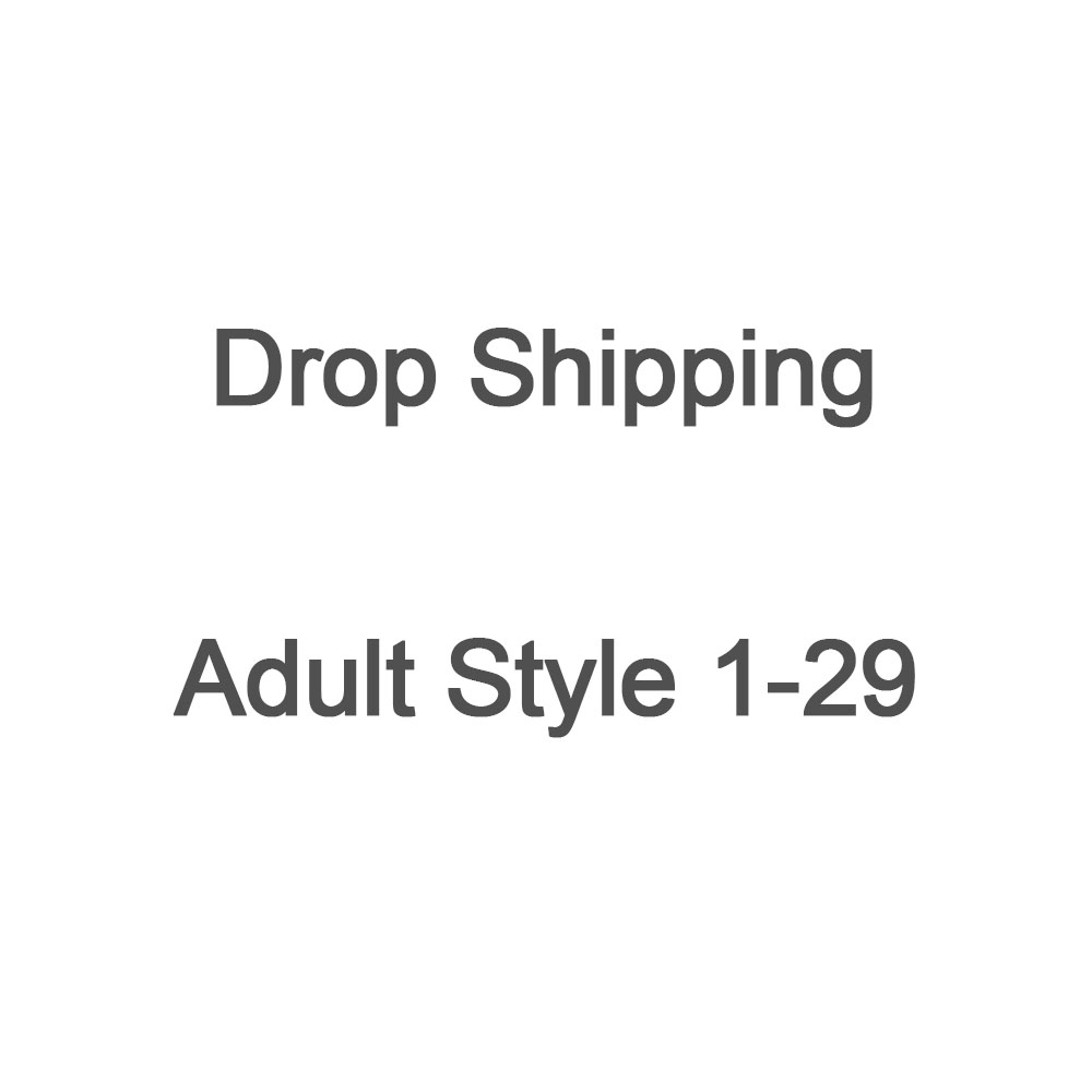 US Drop Shipping LINK ADULT Style 1-29