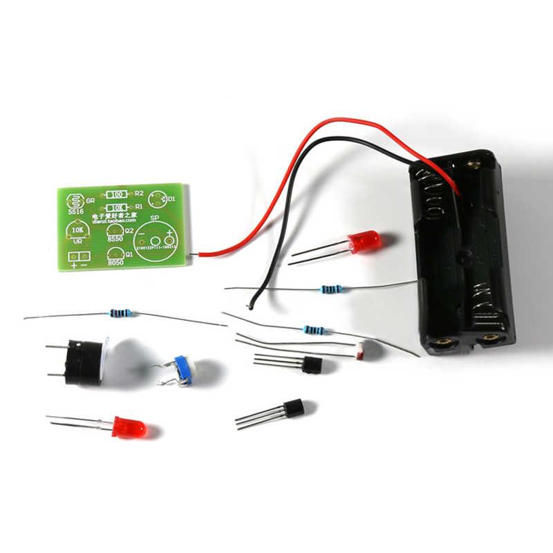 Light Activated Alarm Kit Electronics Assembly Project Kit UK Seller