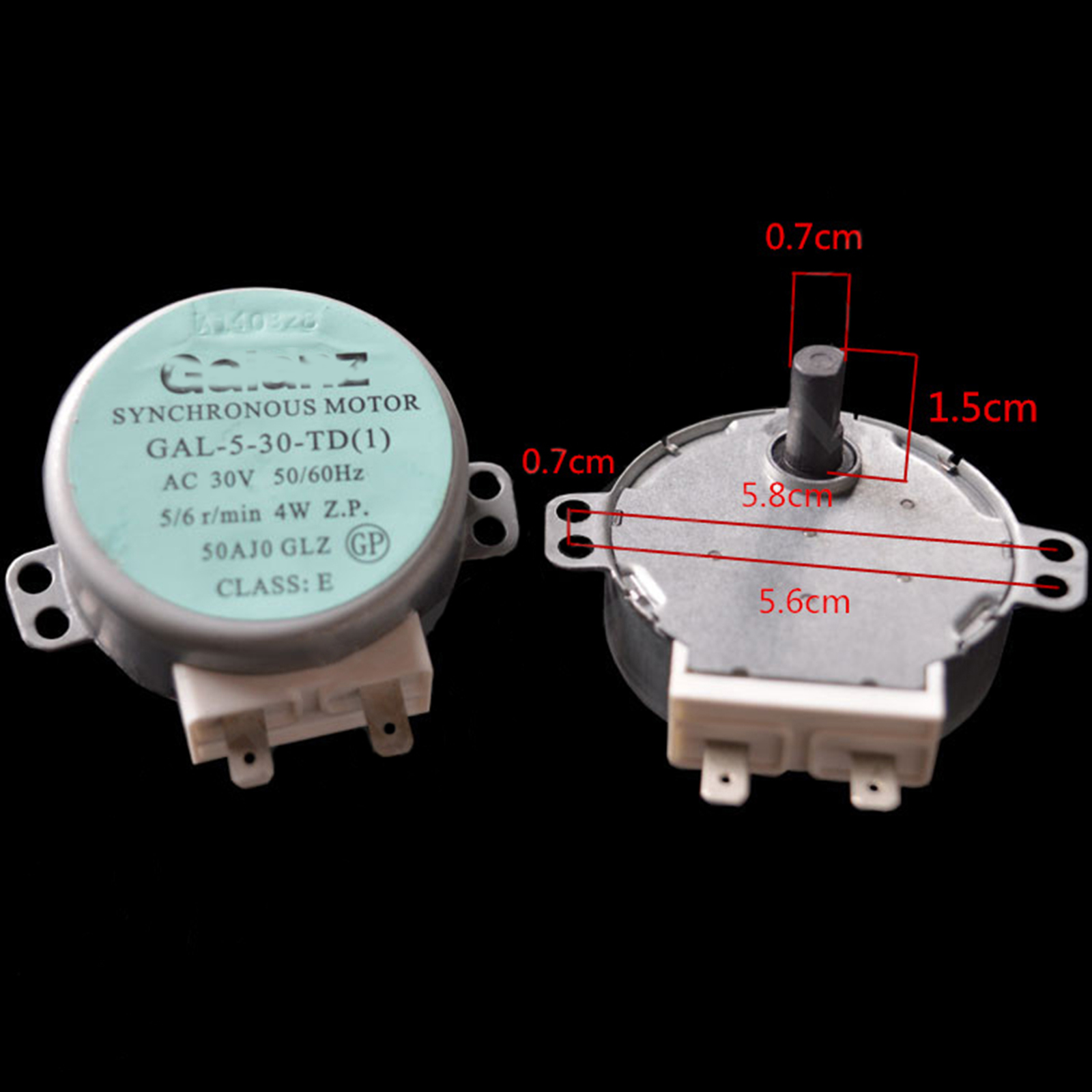 1pcs AC 30V Microwave Oven Synchronous Turntable Motor Tray Motor For GALANZ Microwave Oven GAL-5-30-TD 4W Accessories