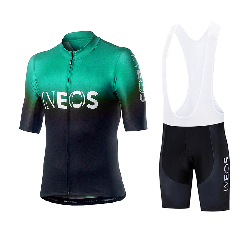 Men/'s Summer Cycling jersey bib shorts set mtb bike bicycle quick dry pad shorts