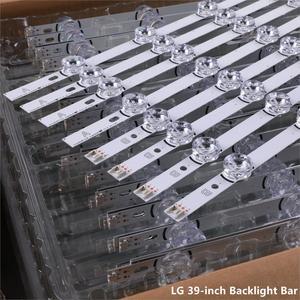 """Image 2 - 8 個の x LED バックライトストリップ LG テレビ 390HVJ01 lnnotek drt 3.0 39 """"39LB5610 39LB561V 39LB5800 39LB561F DRT3.0 39LB5700 39LB650V"""