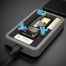 QIANLI imalat IPHONE X XS XSMAX 11 11pro çok fonksiyonlu sabit sıcaklık sökme ve kaynak ısıtma masa