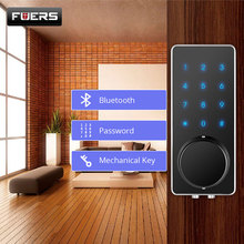 Home Smart Lock Automation Bluetooth Lock Touch Electronic Door Lock APP Control for Home Hotel Apartment Low Voltage Digital все цены