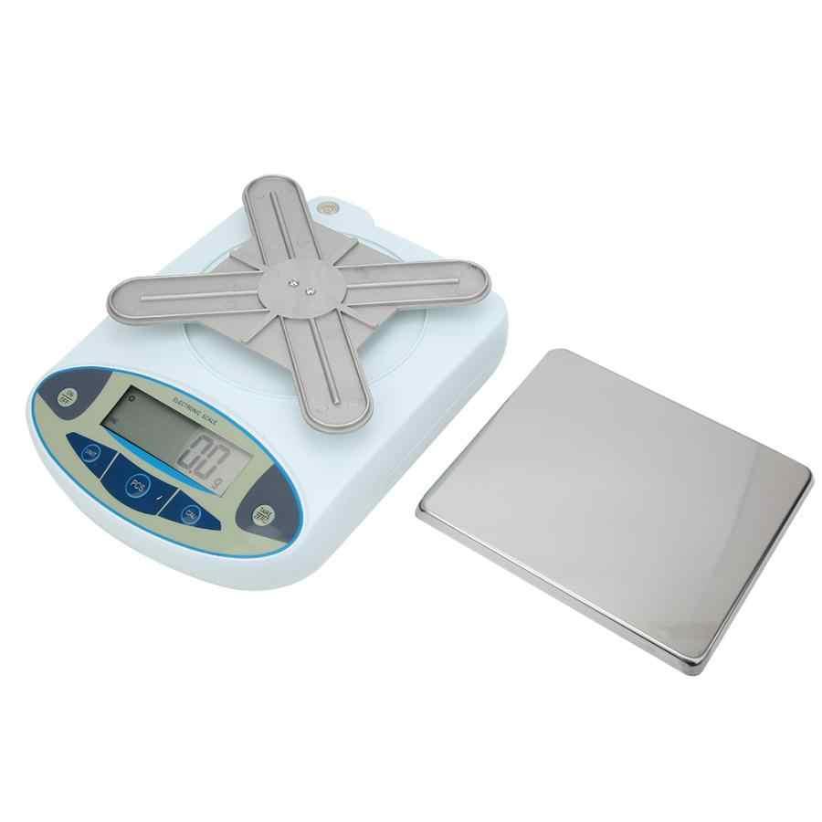 15kg 0.1g Balance analytique de Balance de laboratoire électronique numérique de haute précision 100-240V