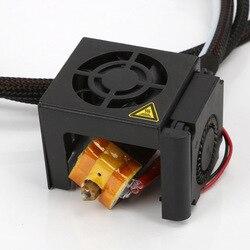 MK8 wytłaczarki gorący koniec zestaw 0.4mm zestaw dyszy dla Creality 3D CR-10 10S FKU66