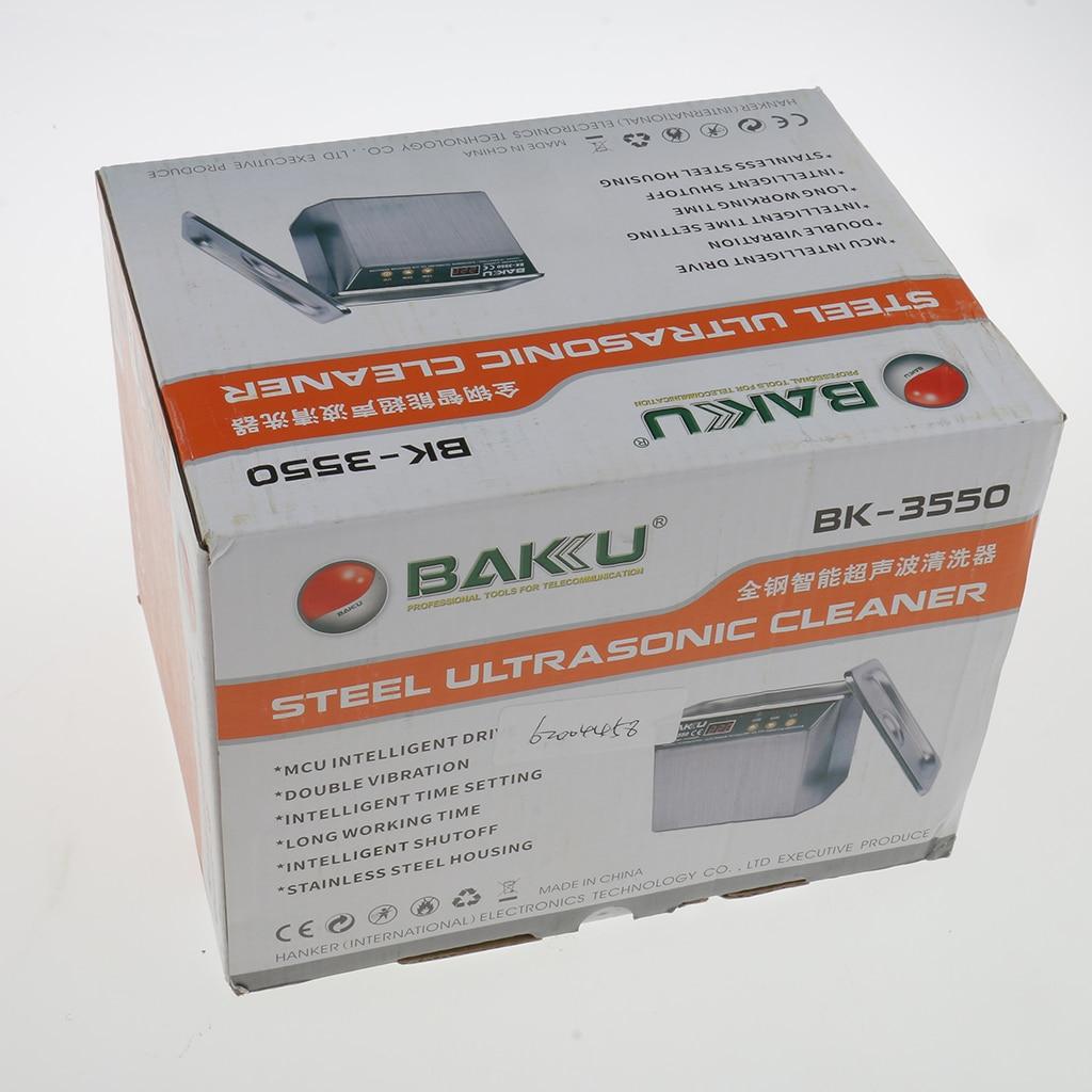 35/50W bijoux montre numérique nettoyeur à ultrasons Machine de nettoyage CE approuvé