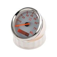 Marinhos barco Tacômetro Tacho Medidor LCD Medidor Horímetro 8000mm Barco Tacômetro rpm 85 12 v/24 v Vermelho backlight