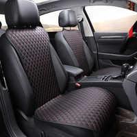 2019 brand new łatwe do czyszczenia nie porusza poduszki do siedzenia samochodu, uniwersalny pu leather non slajdów pokrowce na fotele pasuje większość samochodów utrzymać ciepłe zimowe