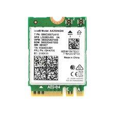 WIFI6 اللاسلكية NGFF M2 بطاقة 160MHz 2.4 جيجابايت إنتل 2974 150mbps 802.11AX/802.11AC AX200NGW2400M MU MIMO بلوتوث 5.0
