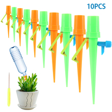 10Pcs Automatic Self-Watering Device Adjustable Spikes Flower Plant Irrigation Tool Adjustable Plant Self Watering Spray Tips