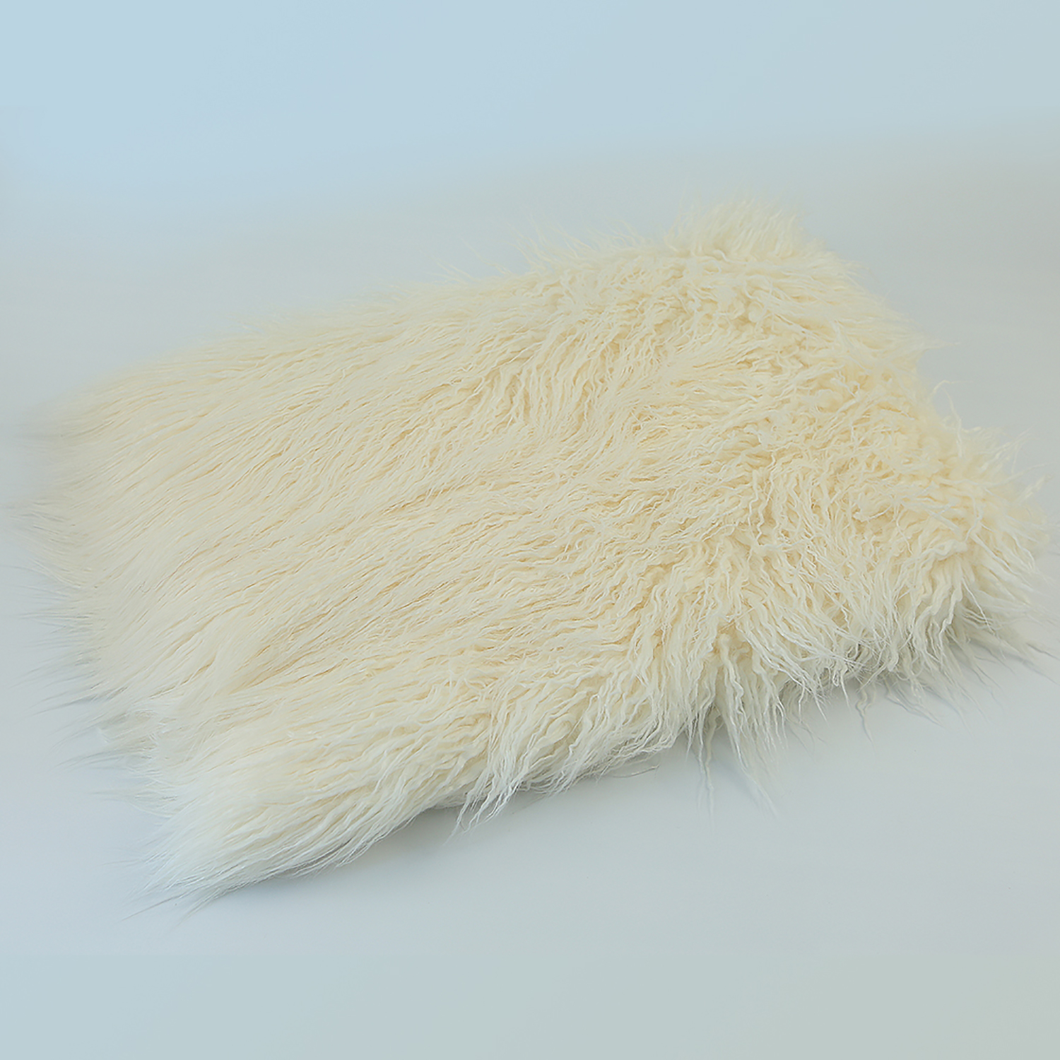 Don&Judy 150X100cm Faux Fur and Basket Nest Sets Photography Photo Prop Newborn Blanket Background Backdrop Rug Photo Prop