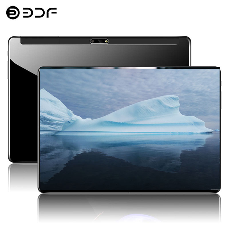 10.1 Inch 3G Phone Call Tablet Android 7.0 Support Google Play 4GB+64GB Octa Core 1.5GHz Dual SIM GPS OTG