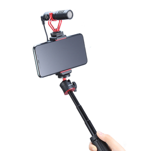 Image 3 - Ulanzi ST 07 Vlog Phone Mount with Cold Shoe for Microphone LED Light Universal 1/4 Screw Phone Mount