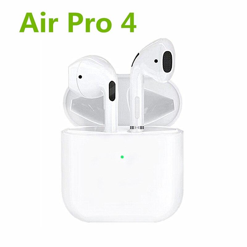 Nieuwste Airs Mini Pro 4 Tws Ondersteuning Hernoemen Gps Draadloze Hoofdtelefoon Oordopjes Sport Bluetooth Oortelefoon Pk I12 I90000 Inpods 12