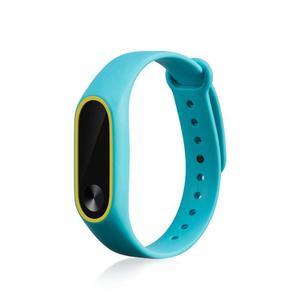 Image 5 - 21 kolory moda bransoletki dla Xiaomi Mi Band 2 Sport pasek zegarka silikonowy pasek na rękę dla Xiaomi MiBand2 bransoletka pasek na rękę