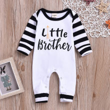 new born baby clothes baby boy romper winter clothes costume romper onesie disfraz bebe halloween Patchwork Long Sleeve 0-24m Z4(China)