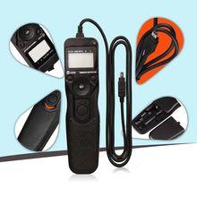 Снимать MC-DC2 ЖК-дисплей дистанционный спуск затвора по таймеру для Z7 D750 D3100 D5000 D7000 D90 D3300 D5100 цифровой зеркальной камеры