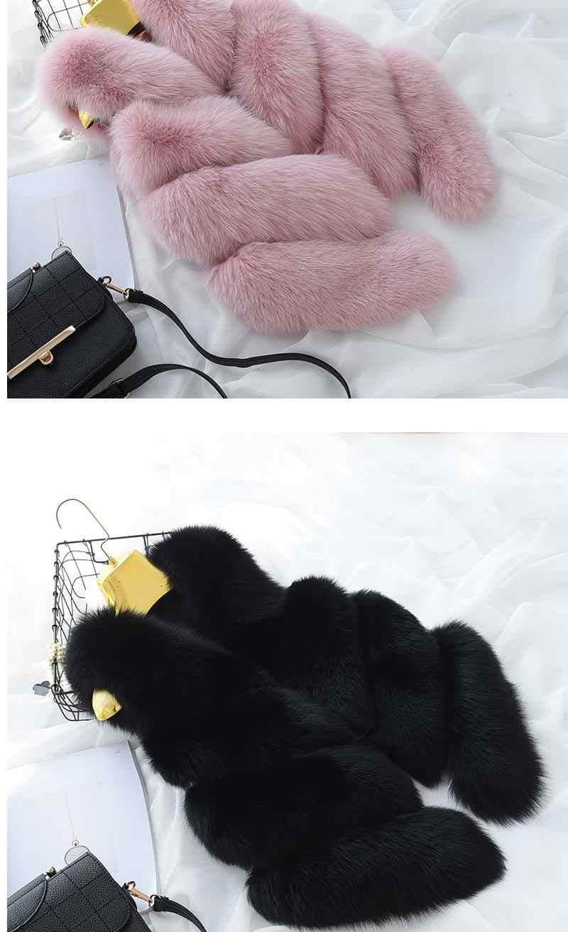 Women's Fox Fur Waistcoat 15