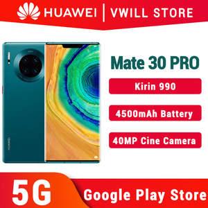 HUAWEI Mate 30-Pro 5G Google 128gb GSM/5G/WCDMA/LTE Nfc Supercharge Bluetooth 5.0/game Turbogpu Turbo