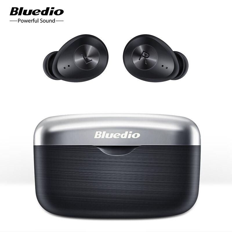 Беспроводные Bluetooth наушники Bluedio Fi, TWS наушники APTX, водонепроницаемая Спортивная гарнитура, беспроводные наушники в ухе с зарядной коробкой|Наушники и гарнитуры|   | АлиЭкспресс