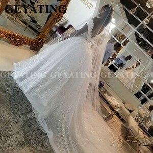 Image 4 - 2020 luxus Off Schulter Spitze Meerjungfrau Afrikanische Hochzeit Kleid mit Abnehmbaren Zug Plus Größe Backless Nigerian Frauen Brautkleider