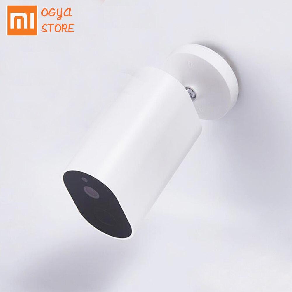 Original Xiaomi Mijia caméra intelligente batterie passerelle CMSXJ11A 1080P 120 degrés F2.6 AI détection humanoïde IP caméras sans fil Cam