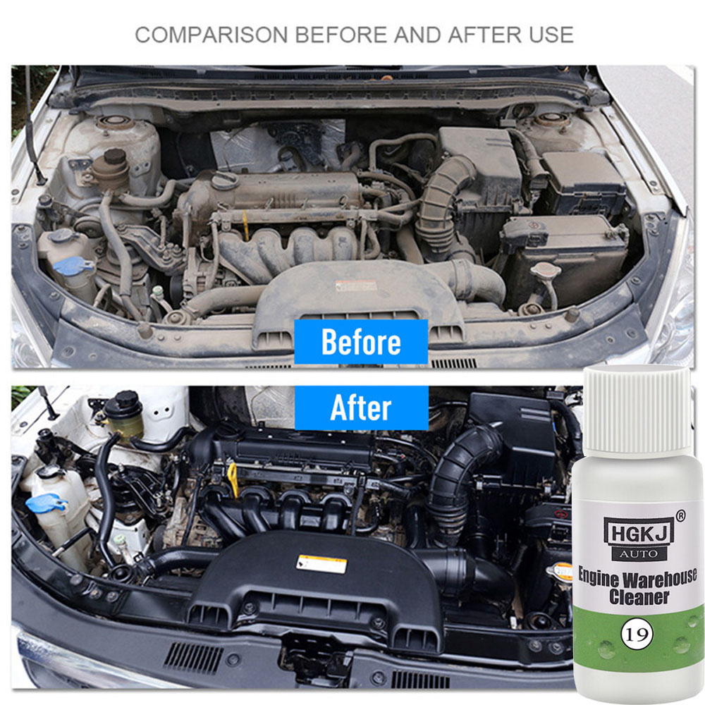 Car Accessories 1PCS 20ML 1:8 Dilute With Water=180ML Engine Compartment Cleaner Removes Heavy Oil Car Window Cleaner