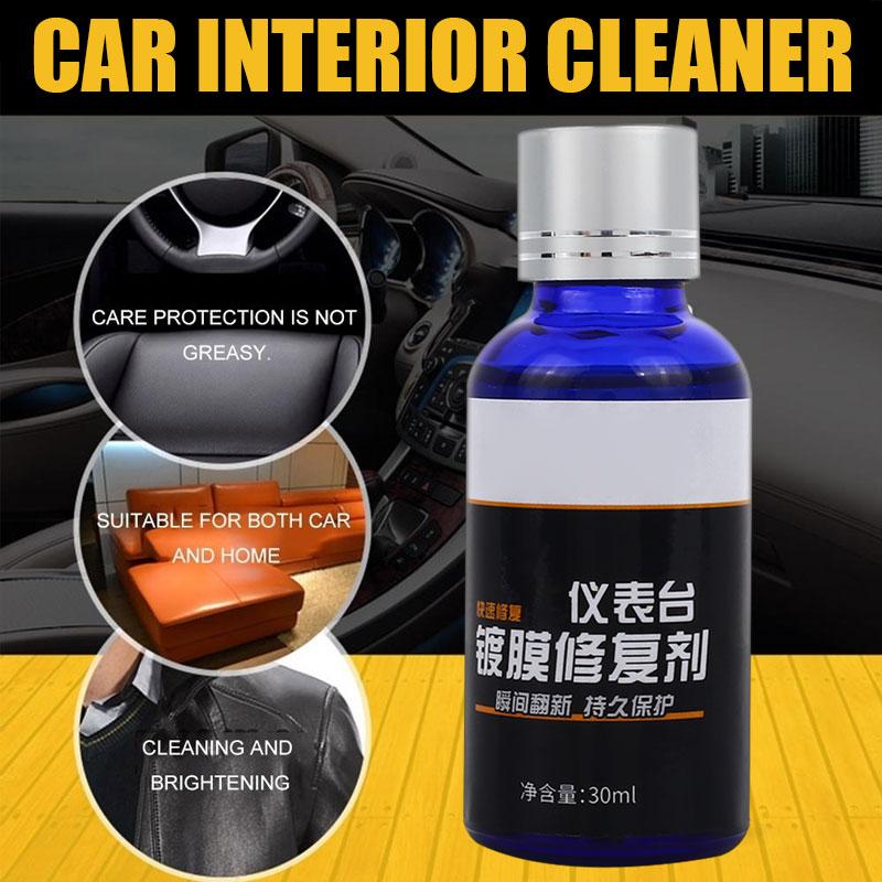 Multi-Functional Auto Coating Repair Plastic Parts Refurbishing Liquid Glass Car Paint Car Coating Universal 30ml