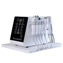 hidrodermabrasion oxigeno terapia facial vacuum therapy machine hydrafacial peeling+ultrasonic+microdermabrasion machine