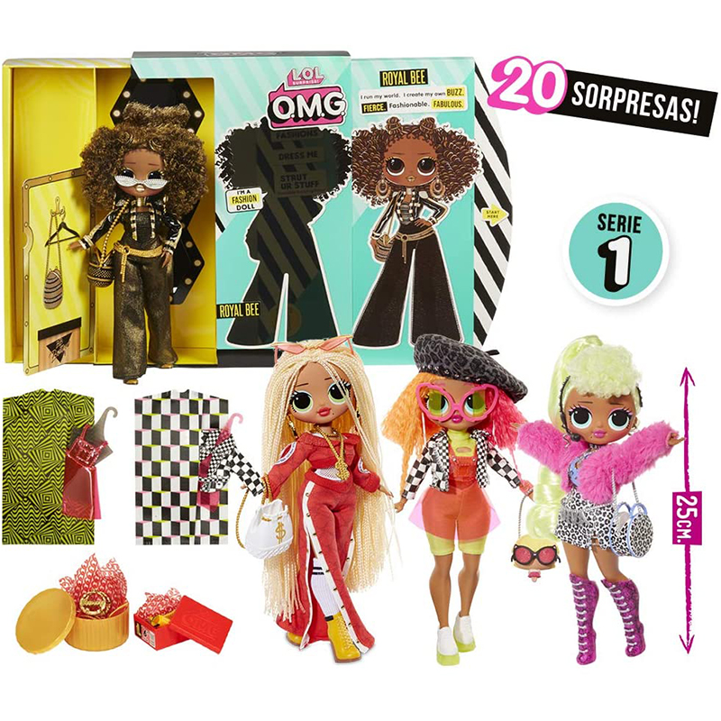 New Original LOL Surprise Doll L.O.L. Marvels At OMG Collection Winter Disco Doll Toy Gift Surprise Gift