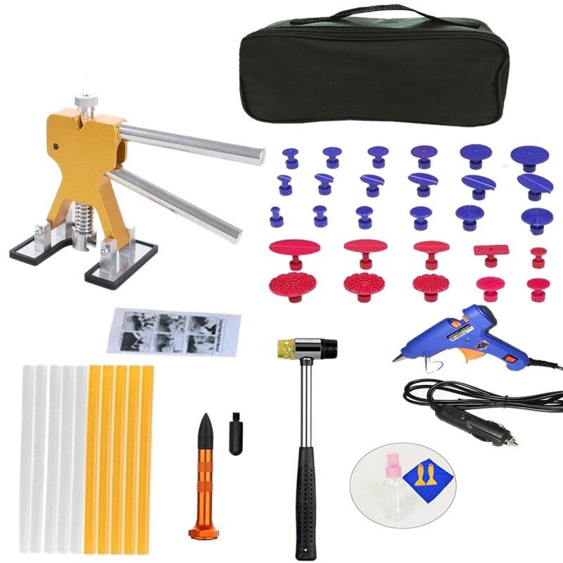 HHO-Kit de réparation de débosselage sans peinture pour voiture sans grêle Kit de réparation de débosselage 47 pièces